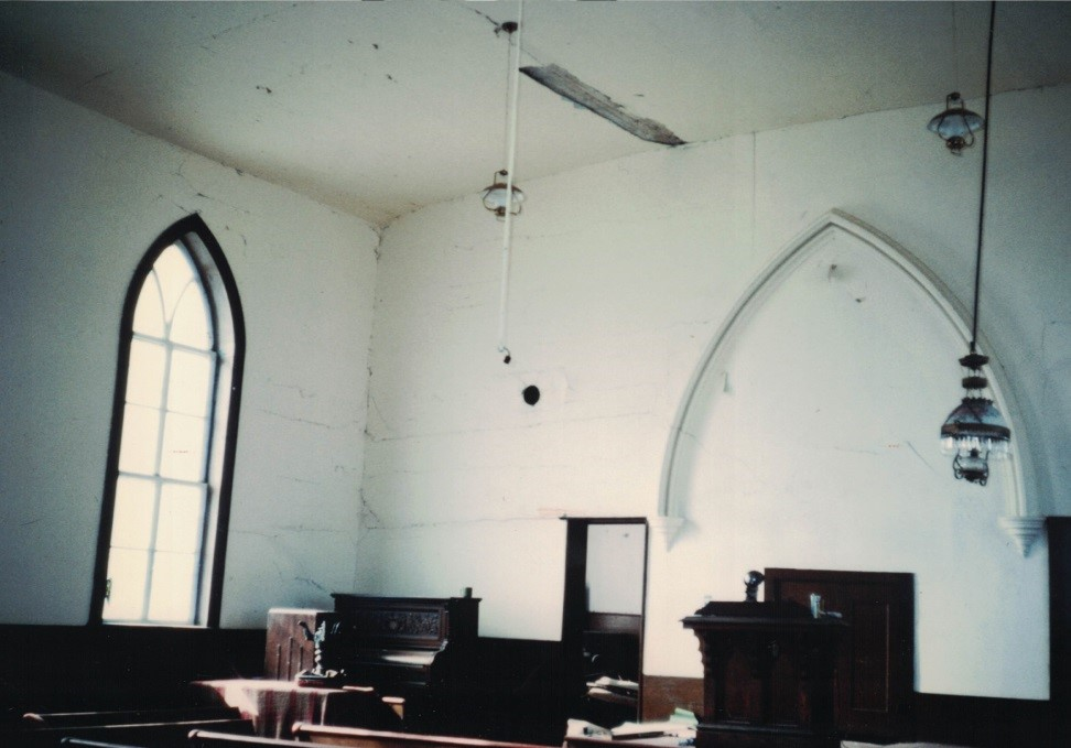room in church
