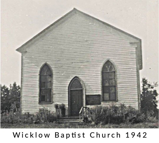 black and white photo of old church