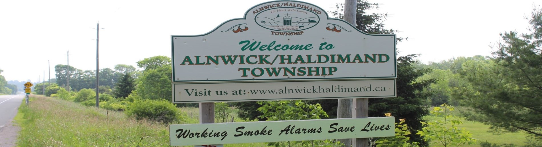 Township of Alnwick/Haldimand sign